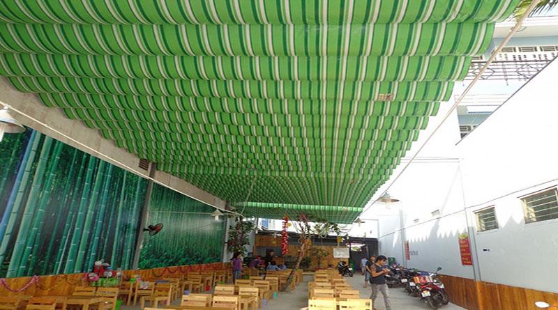 Lắp đặt bạt che nắng mưa tại Hà Nội cam kết chất lượng