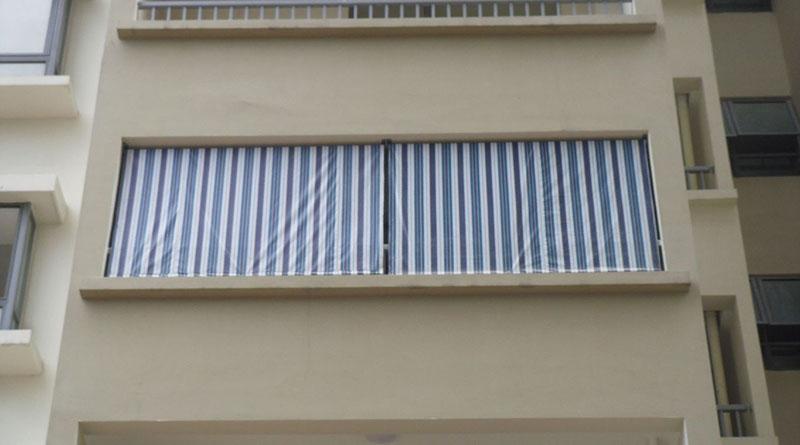 Lắp đặt bạt che nắng mưa tại Hải Phòng