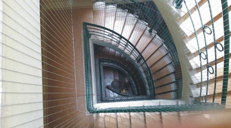 Tiện ích của lưới an toàn an công cho cầu thang